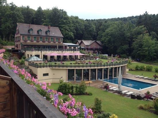 Les Violettes Hotel & Spa Alsace, BW Premier Collection : vu de la chambre 66