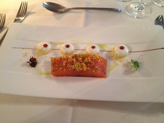 Les Violettes Hotel & Spa Alsace, BW Premier Collection : saumon gravlax