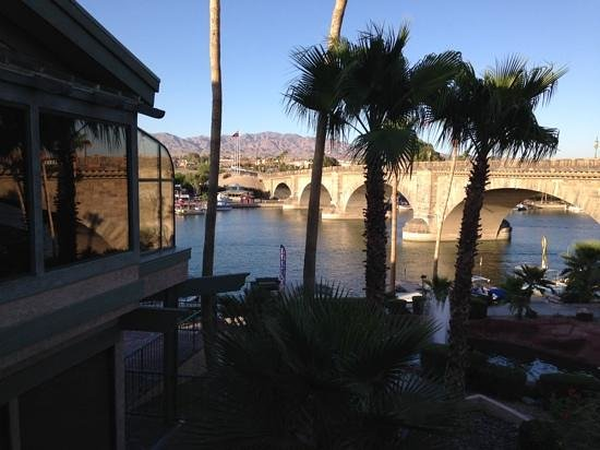 Lake Havasu Travelodge: the hotel is a few miles away from the famous replica of the London Bridge