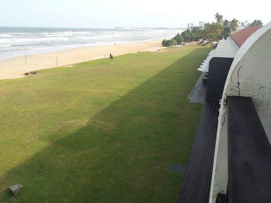 The Surf Hotel : Overlooking beach...