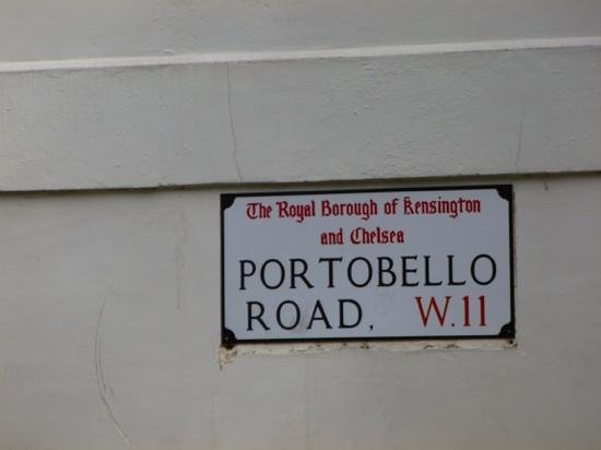 Notting Hill: portobello road
