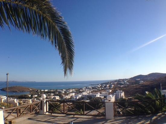 afternoon view from Carlo Bungalows, Tinos