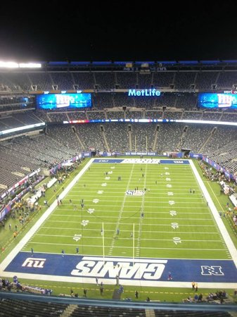MetLife Stadium: View from my seat