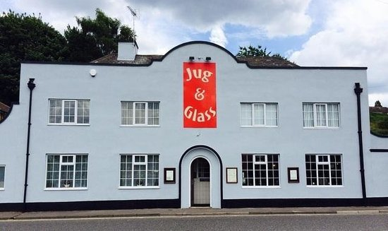 Jug & Glass: Our frontage