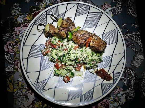 Balique Restaurant: Moroccan Spiced Beef Kebab
