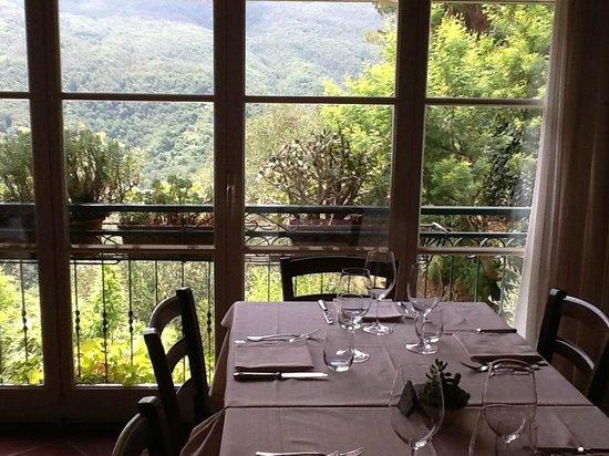 La Brinca: La vista spettacolare sulla Val Graveglia