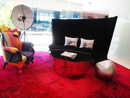 Centara Watergate Pavillion Hotel Bangkok: Perfect venue for phototaking