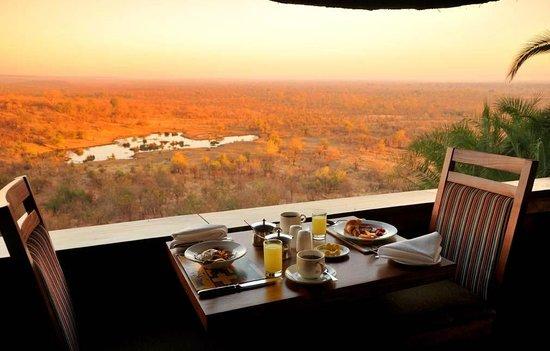 Makuwa-Kuwa Restaurant: Breakfast with a view
