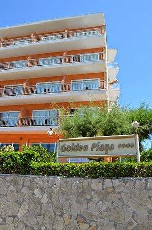 HSM Golden Playa: Hotel front