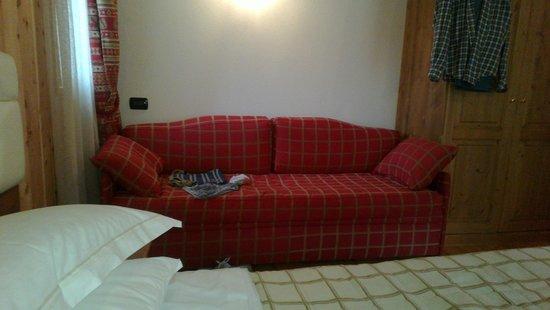 Hotel Lo Scoiattolo: La camera