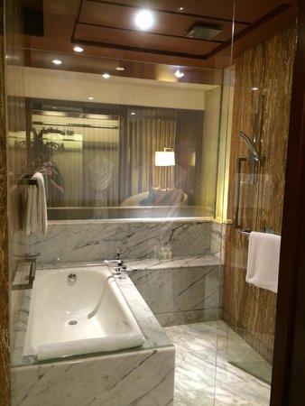 Grand Hyatt Kuala Lumpur: Smart glass bathroom screen