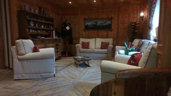 Gressoney-la-Trinité, Italia: Il salone