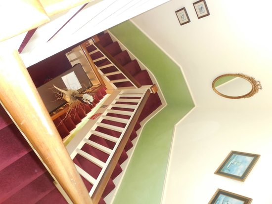 Alpine Guesthouse: Stairs!
