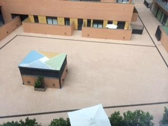 Double Tree Hilton  Hotel Girona: vistas ventana