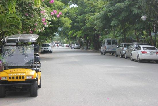 Bizu Boutique Hotel Phu My Hung: Street view