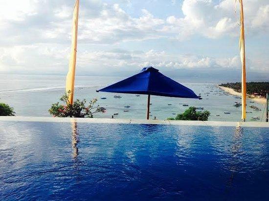 Lembongan Harmony Villas: Villa 1 - Infinity pool