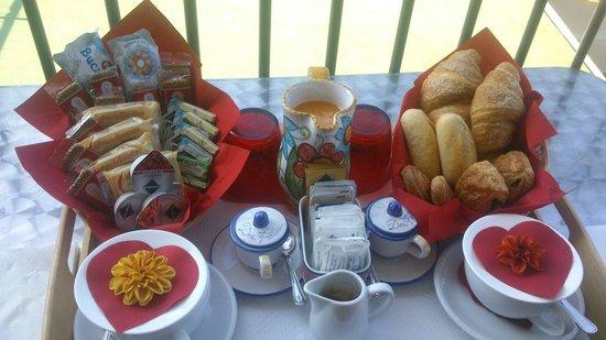 B&B Dea Fortuna: La colazione