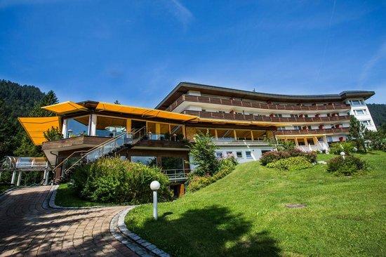 Alpenhotel Oberstdorf: Garten