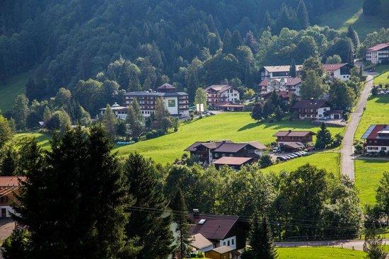 Alpenhotel Oberstdorf: Lage