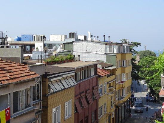 Uyan Hotel: 屋上テラスからの眺め