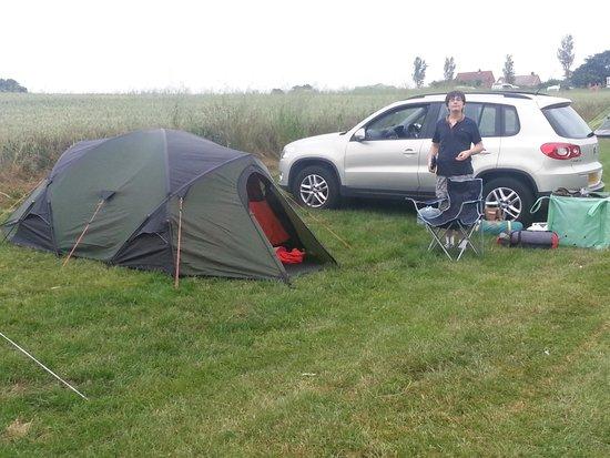 Setting up Camp @ Beacon Farm