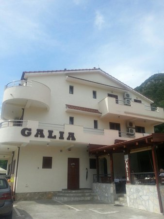 Hotel Galia: Ingresso principale