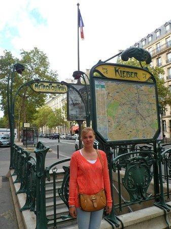 Hotel Kleber Champs-Elysees Tour Eiffel Paris: Метро рядом