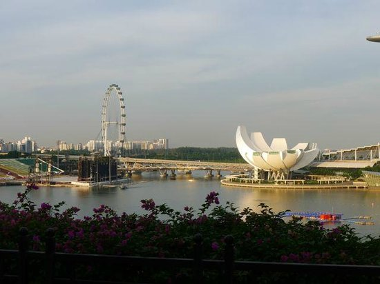 The Fullerton Hotel Singapore : View from Fullerton suite balcony
