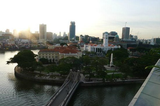 The Fullerton Hotel Singapore : View from Palladian suite
