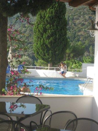 Kerveli Village Hotel: Blick auf die Poolbar