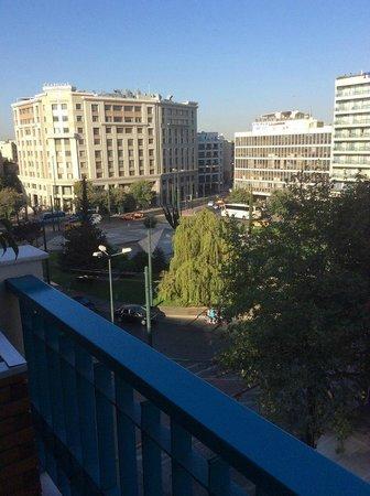 Katerina Hotel: Вид из номера