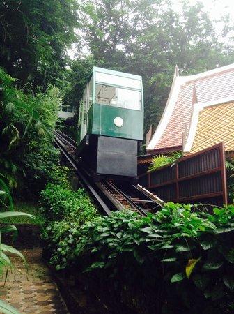 Sea View Resort & Spa Koh Chang: Funicular