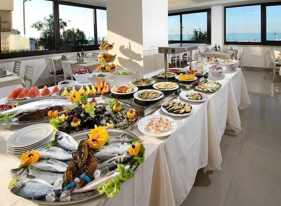 Hotel Strand: Il fantastico buffet