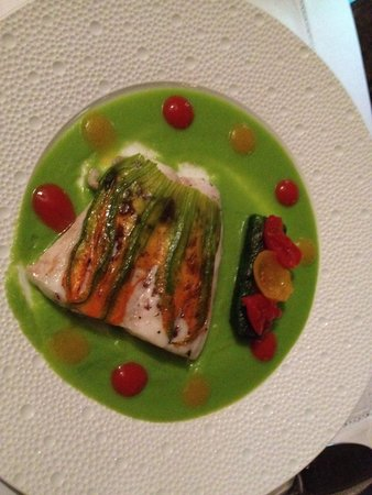 Four Seasons Hotel Firenze: Sea bass