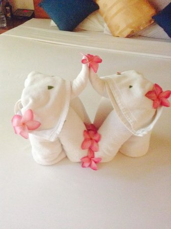 Sea View Resort & Spa Koh Chang: Towels - so sweet!