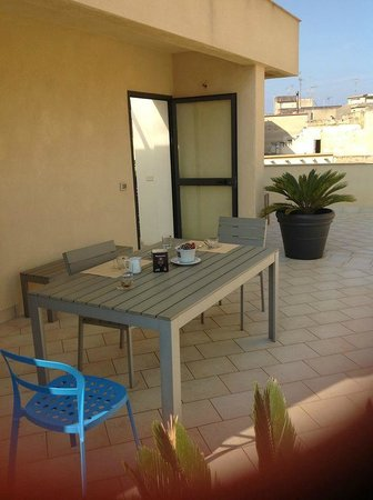 Archea Guest House: Terrazzo relax