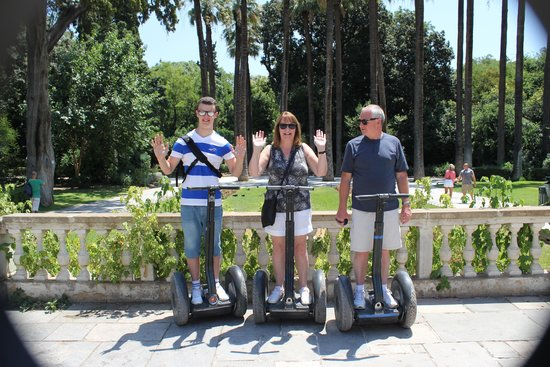 Athens Segway Tours: No Hands ;-)