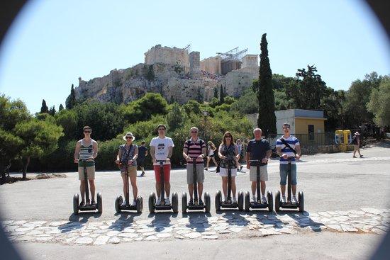 Athens Segway Tours: Our Tour group !