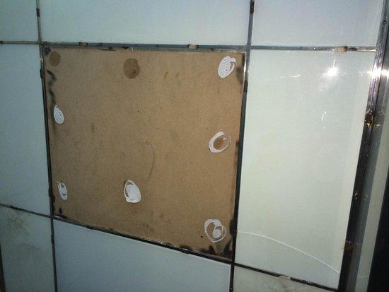 Raintree Hotel, Deira City Centre: Elevator torn apart