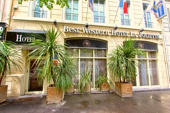 BEST WESTERN La Joliette: Facade de l'hôtel