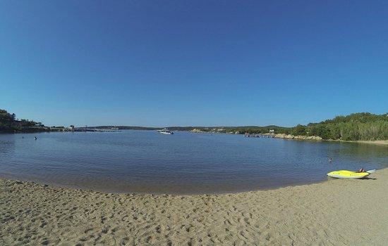 Bagaglino I Giardini di Porto Cervo: la spiaggia
