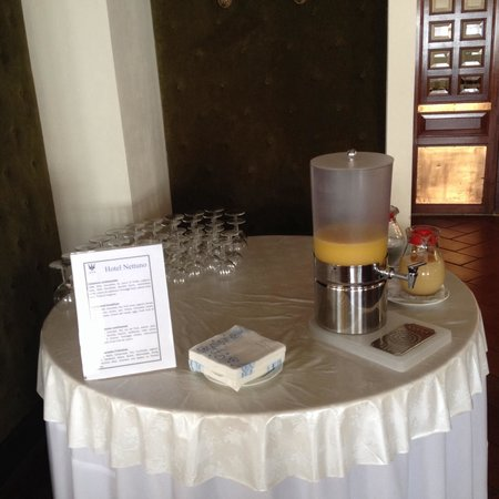 Hotel Nettuno: Good juice