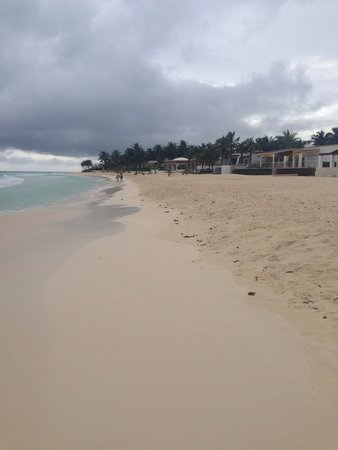 Sandos Playacar Beach Resort : The beach