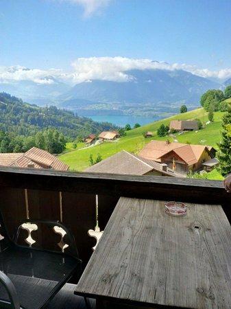 Hotel Restaurant Alpenblick: Aussicht Zimmer!!