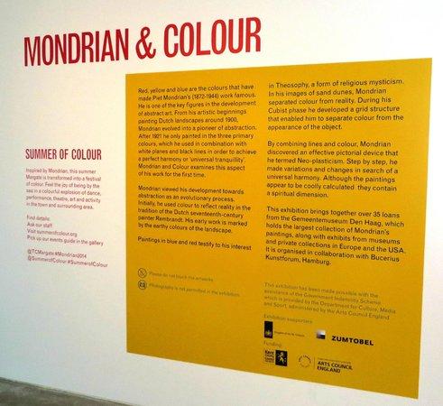 Turner Contemporary, Margate - Mondrian exhibition 1