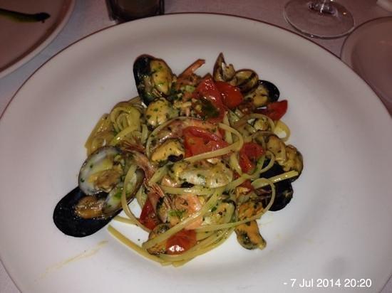 Hotel Metropole Bellagio: seafood linguine