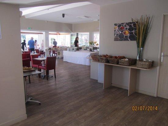 Soleil Vacances Hotel Saint Tropez : buffet de l hotel