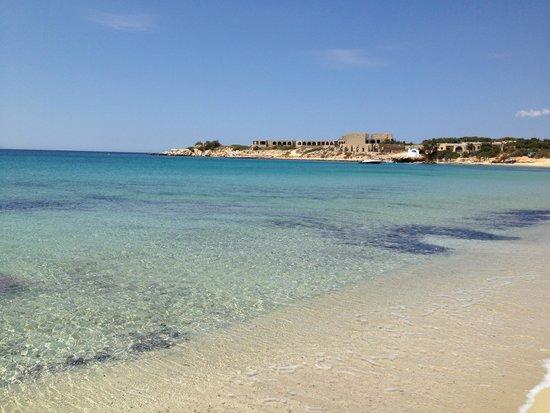 Hotel Kavuras Village : Spiaggia Agios Prokopios