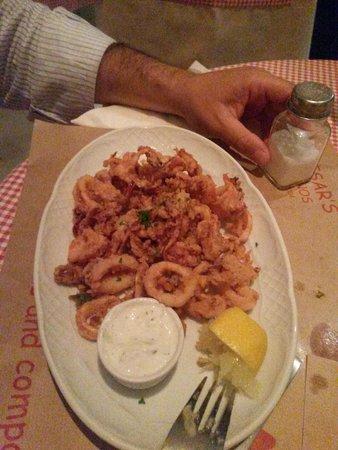 Caesar's: Calamari