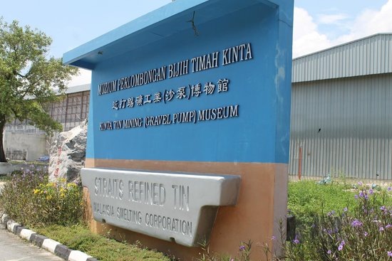 Kinta Tin Mining Museum: The sign board can be easily spotted from the road